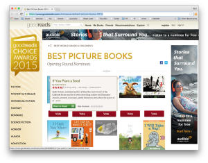 Step 1 - visit the https://www.goodreads.com/choiceawards/best-picture-books-2015
